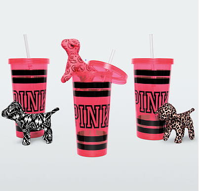 vs mini dog tumbler Victorias Secret: Free PINK Tumbler and Mini Dog with any PINK Purchase!