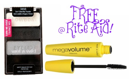wetnwild FREE Wet N Wild Color Icon Eye Shadow Trio and 5X Mega Volume Mascara at Rite Aid!