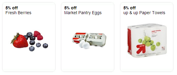 wheel1 New Target Cartwheel Offers: Berries, Eggs, Bananas, and more!!!