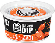2100004817 full Taco Bell Sour Cream Dip only $0.98 at Walmart!