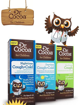 Dr Cocoa for Children 125 FREE Full Size Samples of Dr. Cocoa for Children!
