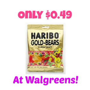 candy coupons, Gummy Bears, Haribo coupons, Haribo Gummy Bears Only $0.49 at Walgreens! (Starts 8/3), Stock Up, stockpile, walgreens deals