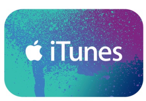 TUNES 300x208 $15 iTunes Gift Card only $10!