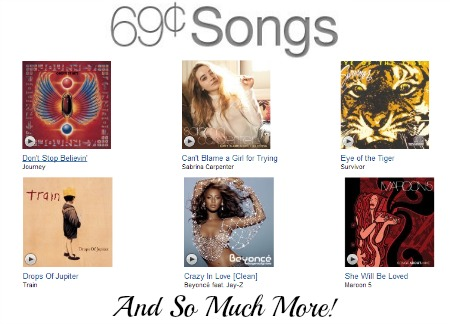 amazon music Amazon: 69¢ Songs from Usher, Journey, Beyonce, Survivor, Maroon 5, and So Much More!