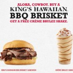 Arby's coupon, FREE Creme Brulee at arby's, Restaurant Coupons, Restaurant Deals, Restaurant Freebies