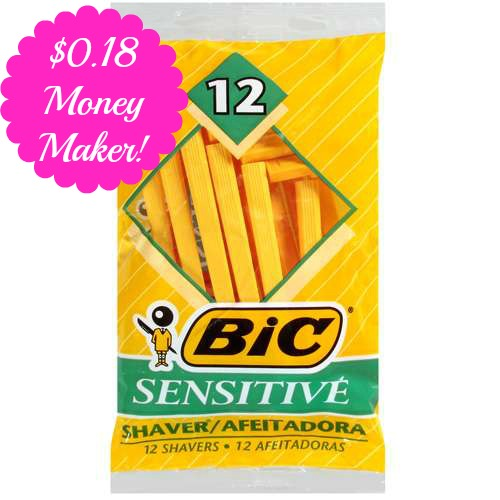 bicoverage HOT! $0.18 Money Maker on Bic Disposable Razors at Walmart!