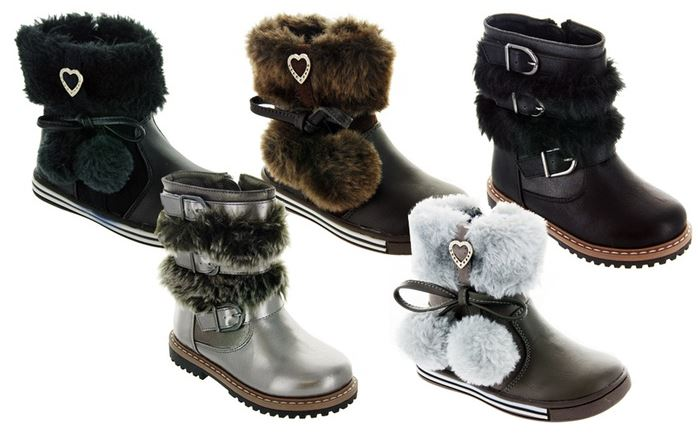 boots Rugged Bear Girls Boots from $21.99 (reg $49)