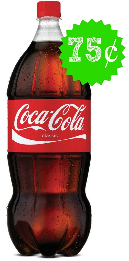 coke Coke 2 Liters Only $.75 at CVS!