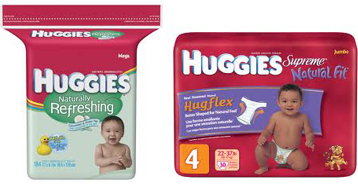 deal4 Huggies Diapers and Wipes only $3.81 ea at CVS!