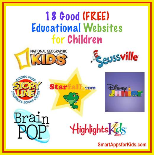 educate TOP 18 FREE Educational Websites for Kids!