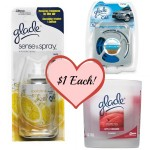 Glade Car Freshener, glade candle, glade sense and spray, walgreens glade deal, glade coupons