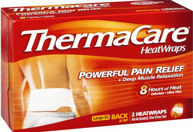 heat Thermacare Heat Wraps only $3.49 at Walgreens!