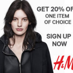h&m newsletter