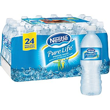 nestle water 24 Pack Nestle Pure Life Water – Only $1.54 at CVS!