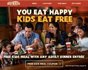 outbackkids 300x239 Outback Steakhouse Coupon: Kids Eat Free!!
