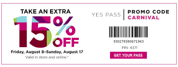 pass Save Up to 80% Off Clearance + Save an Extra 15% Off With Coupon or Promo Code!
