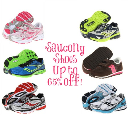 saucony Saucony Shoes for the Whole Family up to 65% off + FREE Shipping!