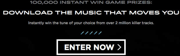 screen shot 2014 08 03 at 3 35 46 pm Enter to Win a FREE Music Download (100,000 Winners)!