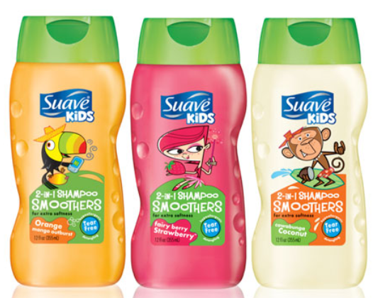 suave kids Suave Kids 2 in 1 Shampoo Only $.16 Each at Target!