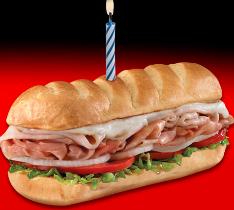 sub FREE Sub at Firehouse Subs On Your Birthday!