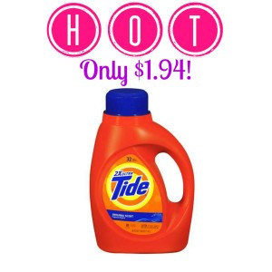 HOT! Tide Detergent Only $1.94 at CVS! (Starts 8/24), Stock Up, Stockpile, Hot CVS Deals, Laundry Detergent Deals, Tide Coupons