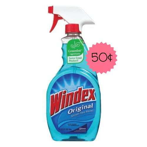 windex Windex Cleaner Only $.50 at Rite Aid!