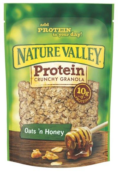 Protein-Granola-Oats-n-Honey