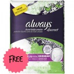 Always Discreet Protection Underwear, free Always Discreet Protection Underwear, target always deal, target coupons, always coupons, always discreet coupons