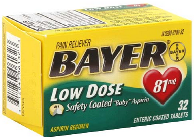 Bayer Low Dose Aspirin