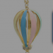 Hot Air Balloon Pendant