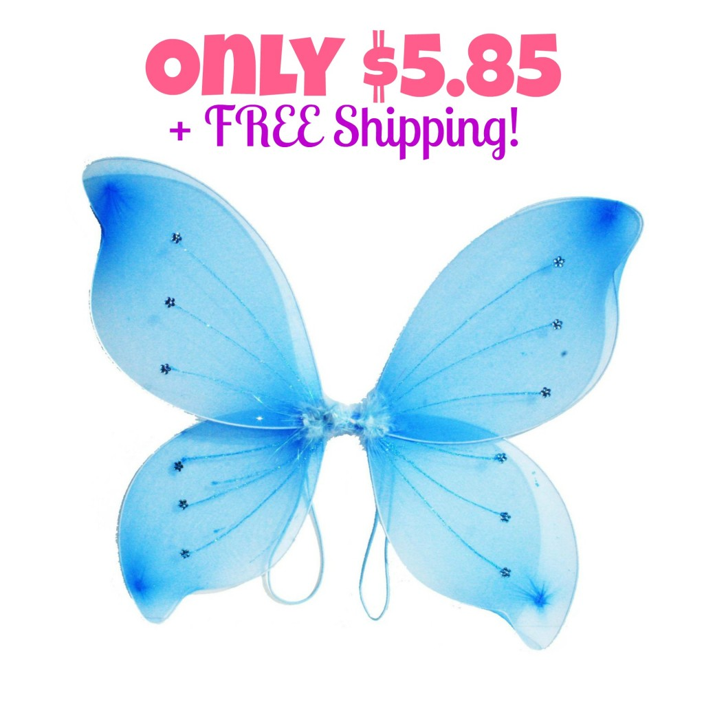 Fairy Wings Butterfly Costume Only $5.85 + FREE Shipping, Halloween Costume, Fairy Costume, Butterfly Costume, Dress-up