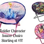 Saucer Chairs, toddler character saucer chairs, walmart saucer chairs, walmart deals