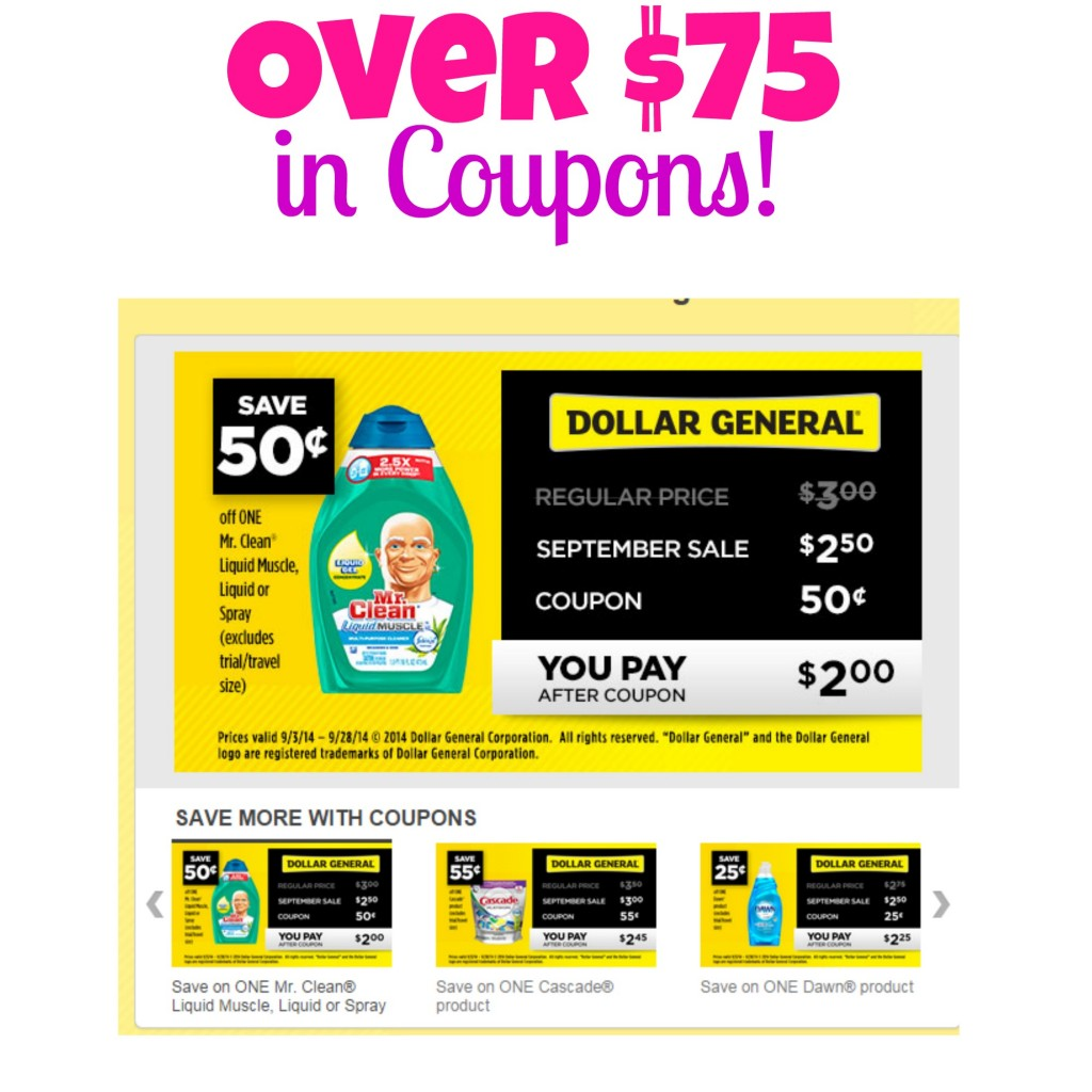 Www dollar general coupons