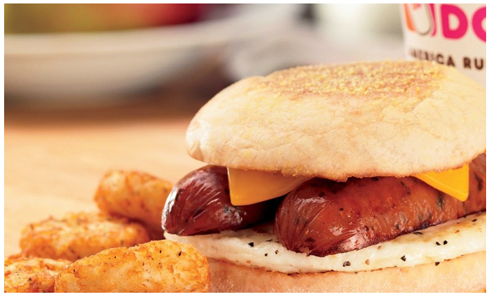 $4 for a $10 Dunkin' Card for Donuts, Coffee, and Breakfast Fare at Dunkin' Donuts, Hot Groupon Deals, Groupon Restaurant Deals, Gift Card Deals