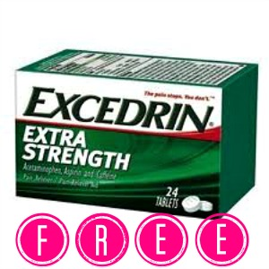 FREE Excedrin at Rite Aid! (Starts 9/21), Free Stuff, Freebies, Hot Rite Aid Deals, Pain Reliever, Free Pain Med, Excedrin Coupons