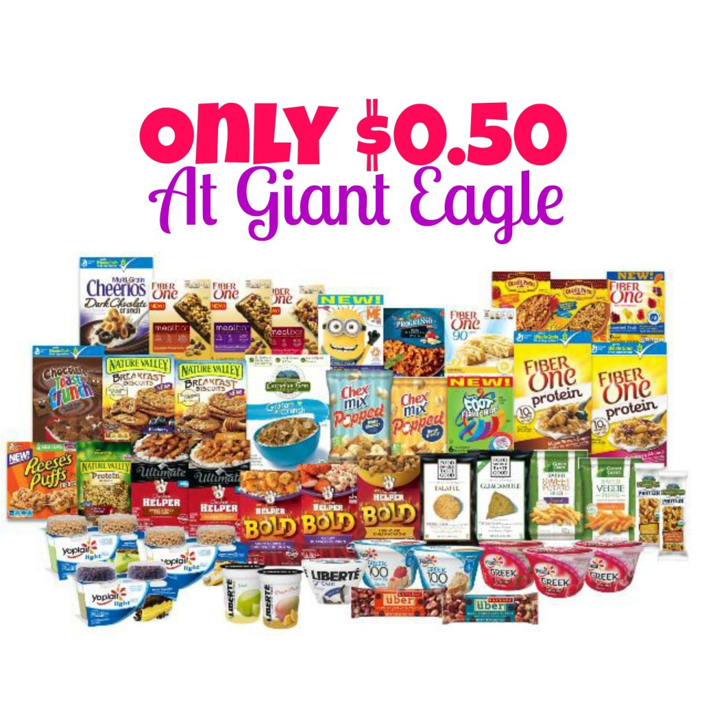 General Mills Products Only $0.50 at Giant Eagle! (Starts 9/11), Stock Up Prices, Stockpile, Hot Giant Eagle Deals, General Mills Coupons