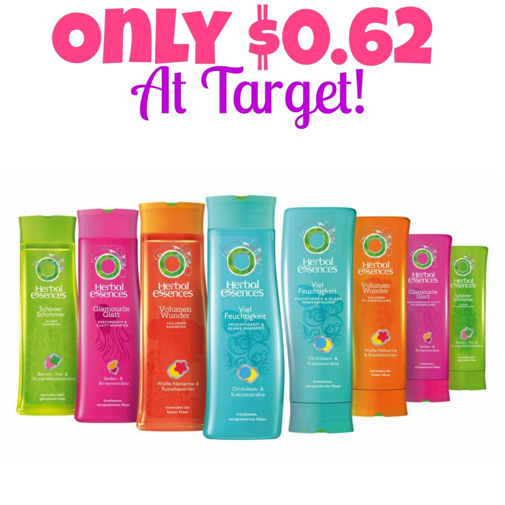 HOT! Herbal Essences Only $0.62 At Target! (Starts 9/21), Stock up Prices at Target, Hair Care Coupons, Shampoo, Conditioner, Hot Target Deals
