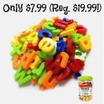 Magnetic Letters, magnetic numbers, tanga deals, tanga magnetic letters