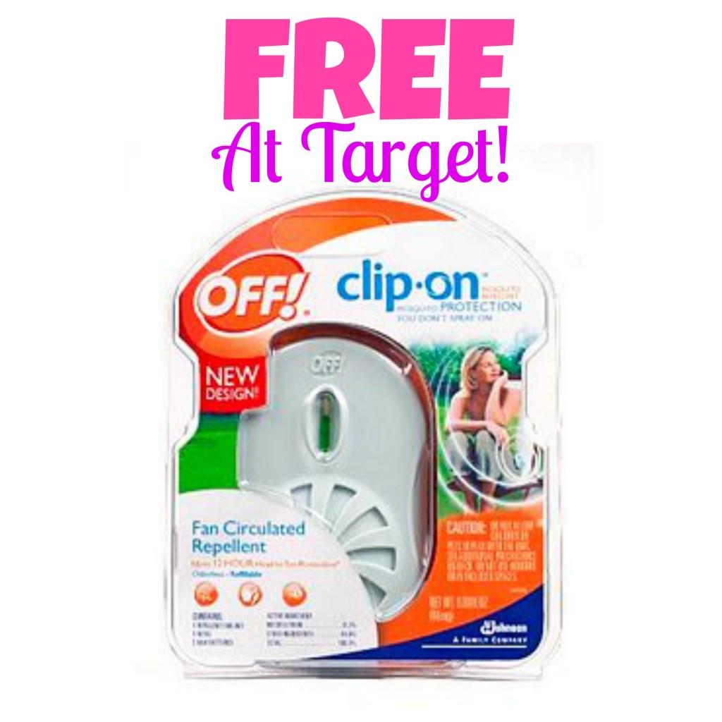 OFF! Clip-On Mosquito Repellent Starter Kit as Low as FREE at Target, Free Stuff, Freebies, Hot Target Deals, Mosquito Repellent Coupons, Bug Spray