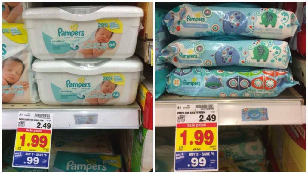 pampers wipe