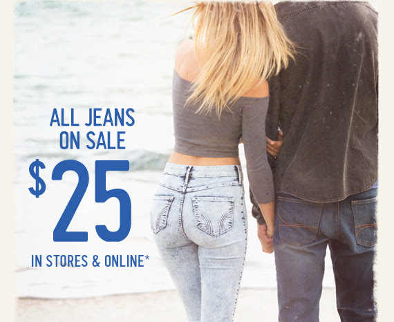 Hollister Jeans Only $25 Each + Sweaters and Sweatshirts ...