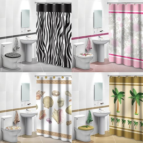 4 Piece Bathroom Decor Set Only 21 99 Reg 37 99