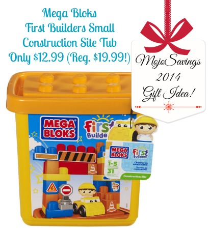 Mega Bloks First Builders Small Construction Site Tub Only 1299 Reg 1999