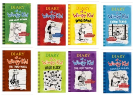 Diary of a wimpy kid 1 ebook
