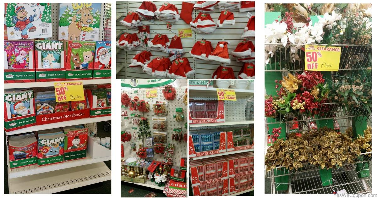 dollar tree christmas clearance 50 off decor candy christmas cardsand more