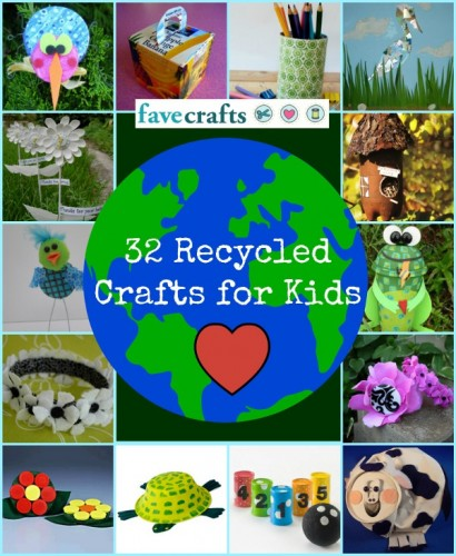 Diy 32 Recycled Crafts For Kids Mojosavings Com