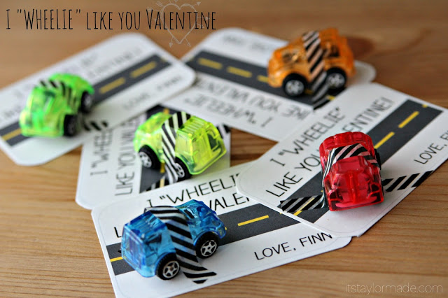 DIY 20 Goofy Valentines For Boys