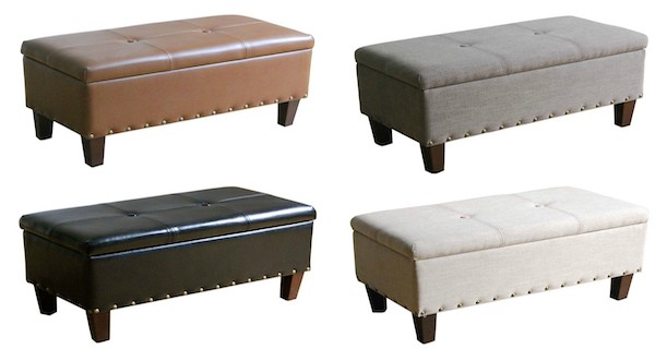 Prime Kohls Sonoma Goods For Life Madison Storage Bench Ottoman Ncnpc Chair Design For Home Ncnpcorg