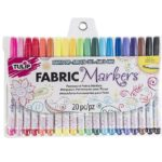 20 Pack Tulip Permanent Nontoxic Fabric Markers