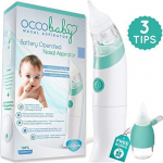 OCCObaby Baby Nasal Aspirator – Safe Hygienic and Quick Battery Operated $37.80 (REG $59.99)